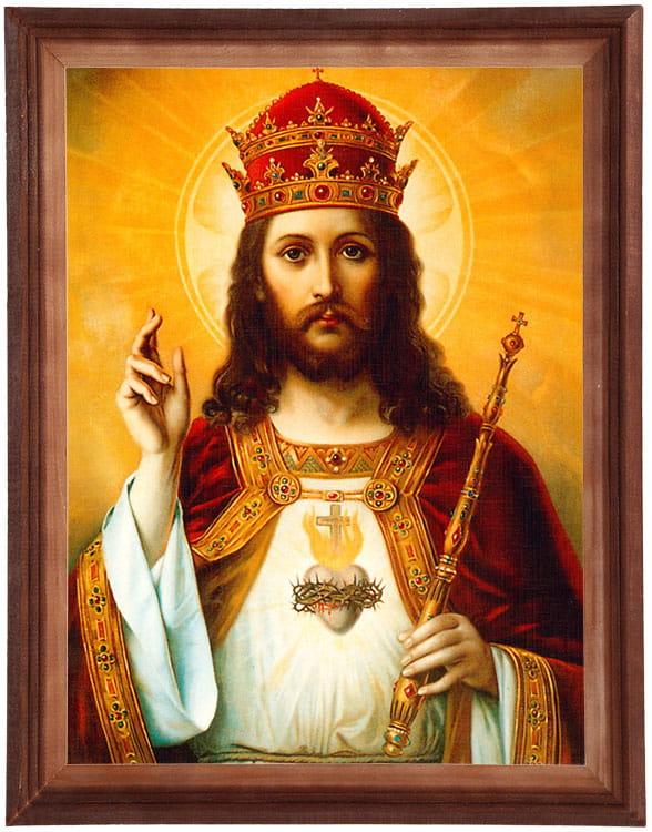 Obraz- Chrystus Król